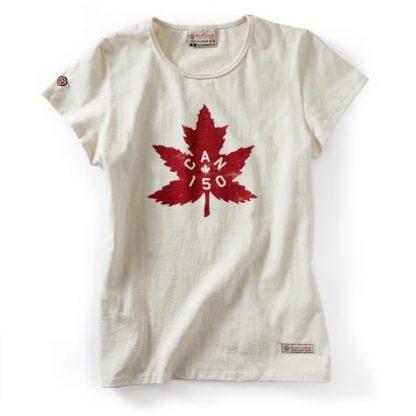 WOMEN'S canada 150th t-shirt