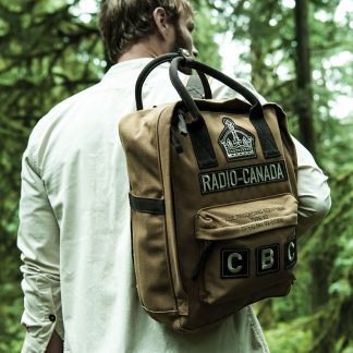 Red Canoe CBC Backpack, tan
