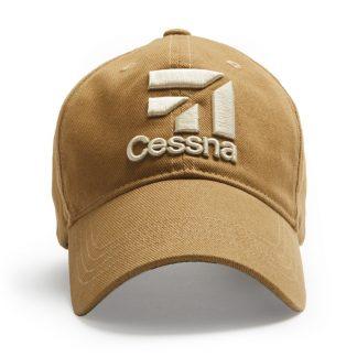 Cessna 3D cap_tan_front