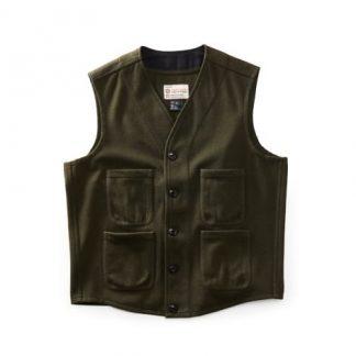 woodsman vest, KHAKI