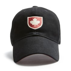 Canada Shield Cap, Black