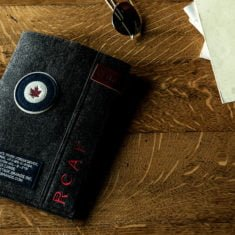 RCAF Ipad Sleeve lifestyle