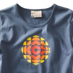 Women's CBC 74 Gem t-shirt washed blue