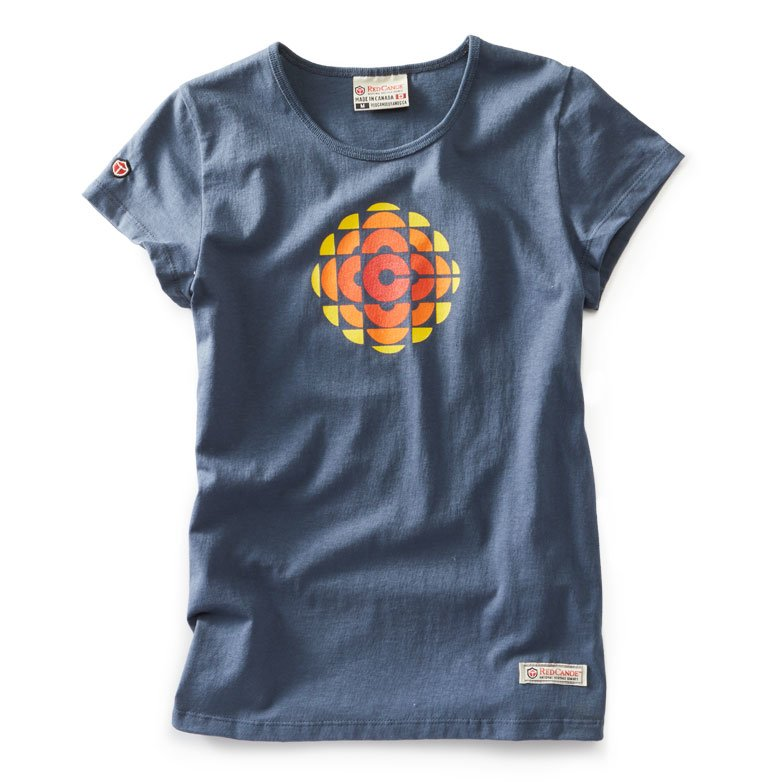 Women's CBC74 Washed Blue t-shirt