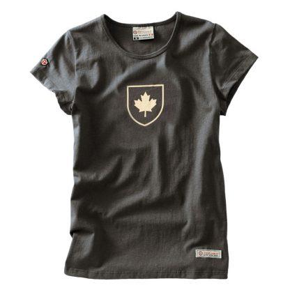 Women's Canada Shield t-shirt, Slate