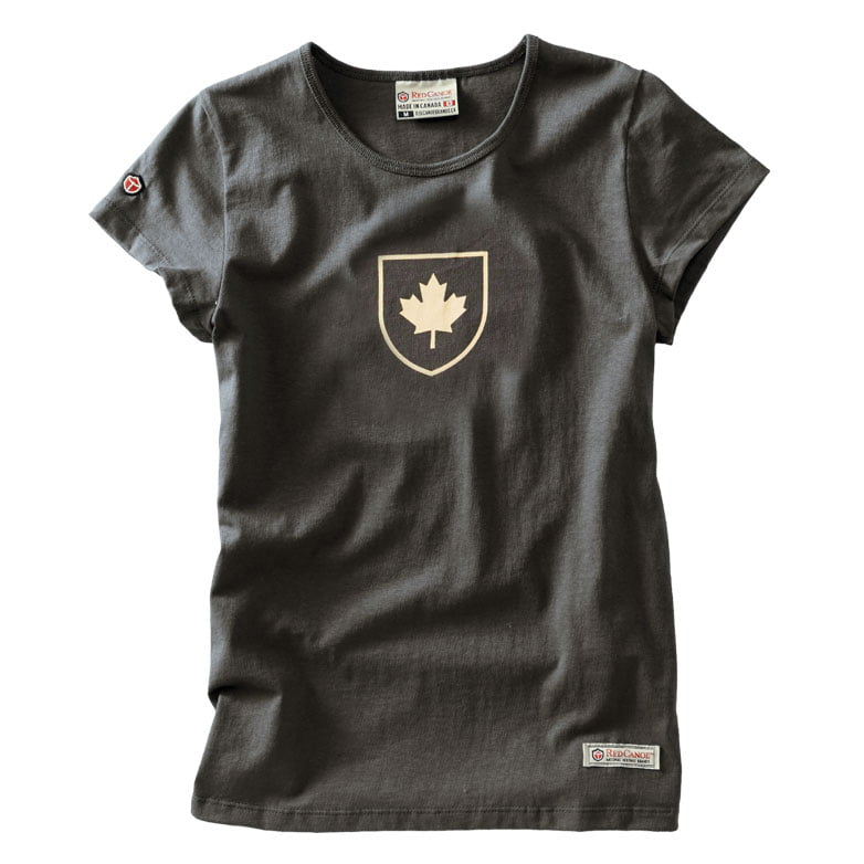 Women's Canada Shield t-shirt, Slate