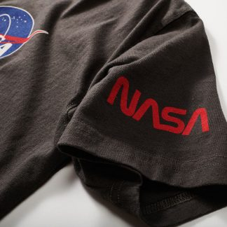Red Canoe Men's NASA LOGO t shirt detail