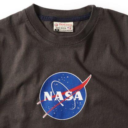 Red Canoe Men's NASA LOGO t shirt detail