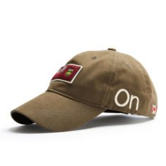 Ontario Cap, Khaki side view