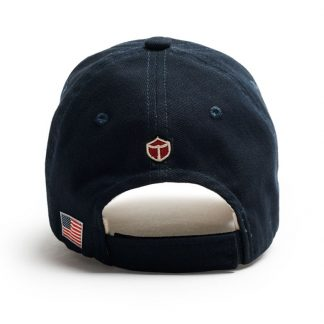 Red Canoe Boeing Cap, Navy Back view