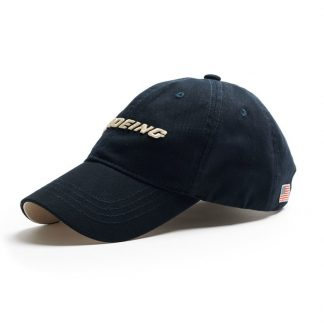 Red Canoe Boeing Cap, Navy Side view