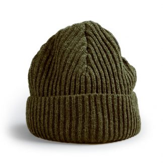 Red canoe Wool toque, Khaki