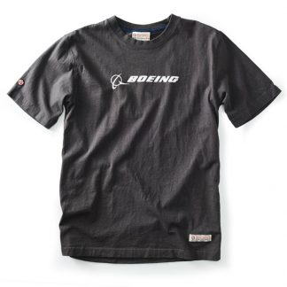 Red Canoe Boeing T-shirt Slate