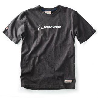 Red Canoe Boeing T-shirt Slate