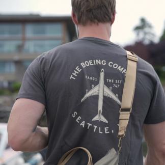 Boeing T-Shirt Slate