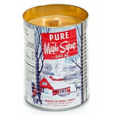 Red Canoe Maple Syrup Candle