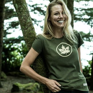 Women's Canada T-shirt Olive