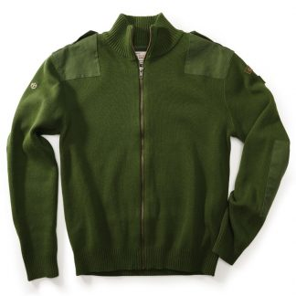 Men's Canada Field Patch Cardigan, Olive