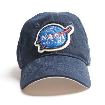 Kids NASA Cap Navy