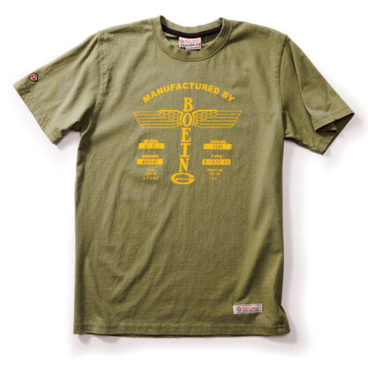 Boeing Vintage logo T-shirt_no patch_front