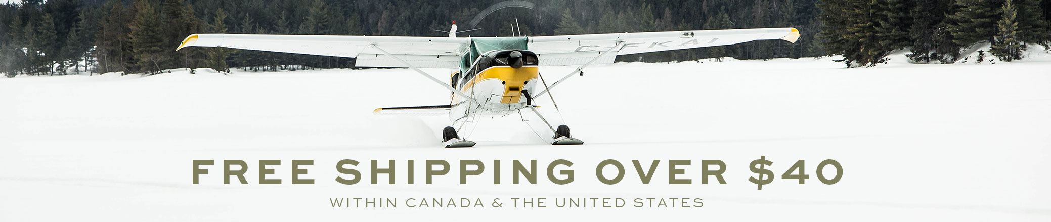 Free shipping over $40 within Canada & The United States