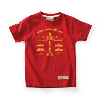 Red Canoe Kids Boeing T-shirt