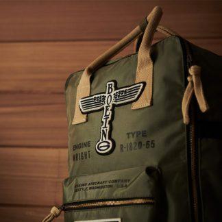 Boeing Vintage Logo backpack_still